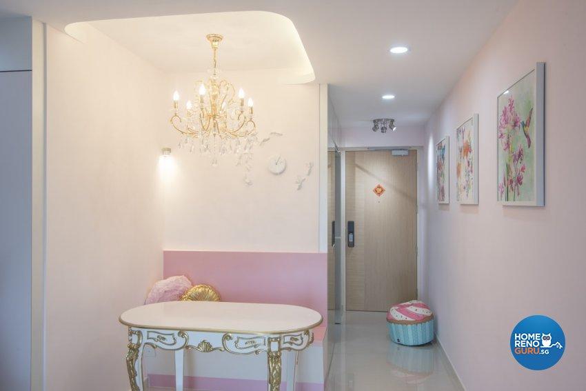 Modern Design - Dining Room - HDB 4 Room - Design by Luxurious Design Pte Ltd