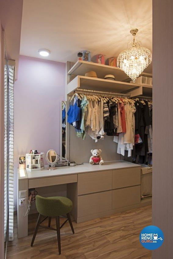 Modern Design - Bedroom - HDB 4 Room - Design by Luxurious Design Pte Ltd
