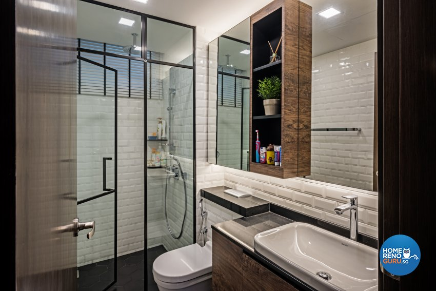 Eclectic, Industrial, Modern Design - Bathroom - Condominium - Design by Luxurious Design Pte Ltd
