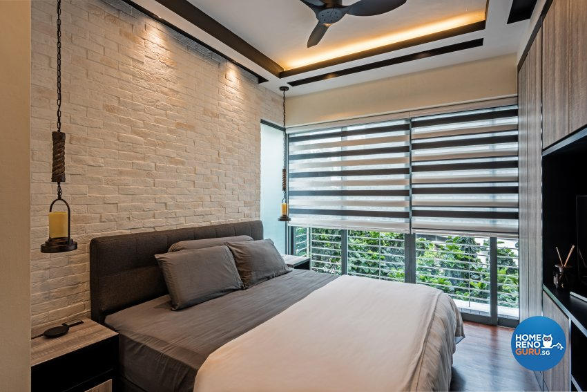 Eclectic, Industrial, Modern Design - Bedroom - Condominium - Design by Luxurious Design Pte Ltd