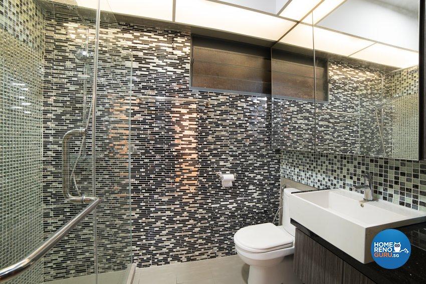Contemporary, Oriental Design - Bathroom - HDB 4 Room - Design by Luxurious Design Pte Ltd