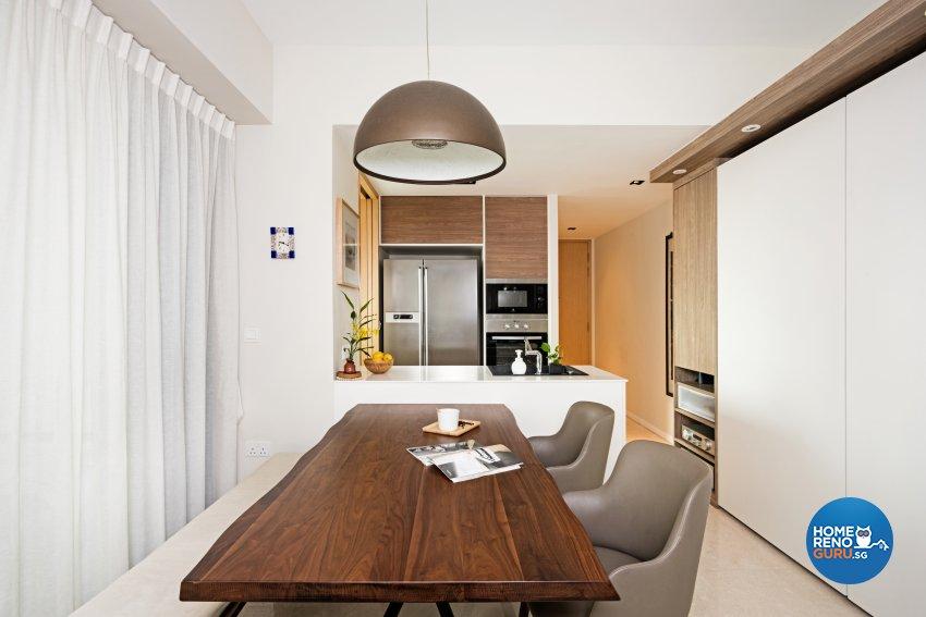 Modern Design - Kitchen - Condominium - Design by Luxurious Design Pte Ltd