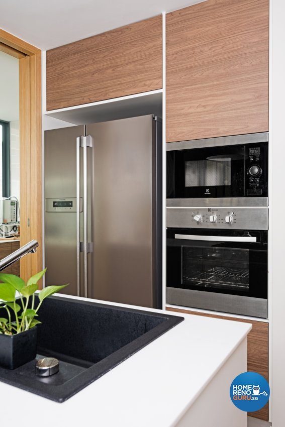 Modern Design - Kitchen - Condominium - Design by Luxurious Design Pte Ltd