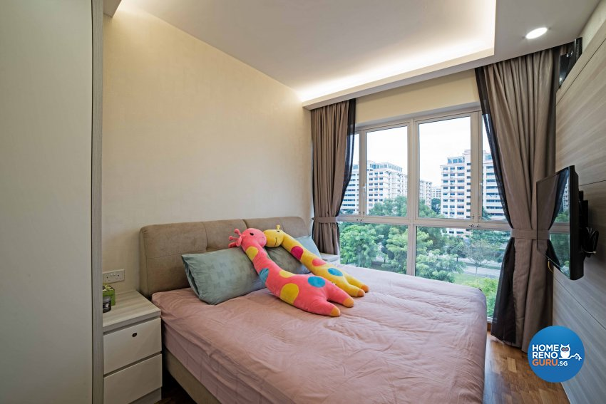 Contemporary, Modern Design - Bedroom - Condominium - Design by Luxurious Design Pte Ltd