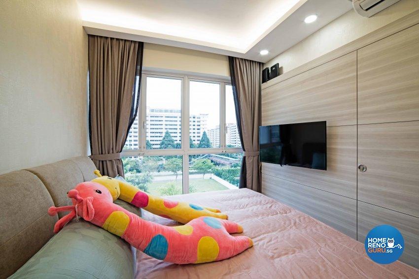 Contemporary, Modern Design - Bedroom - Condominium - Design by Luxurious Design Pte Ltd