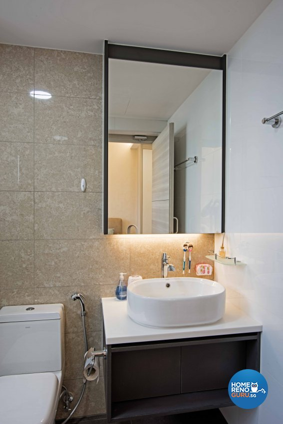 Contemporary, Modern Design - Bathroom - Condominium - Design by Luxurious Design Pte Ltd
