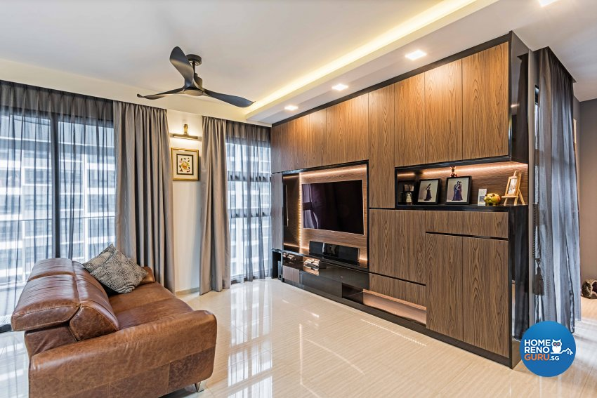 Contemporary, Modern Design - Living Room - Condominium - Design by Luxurious Design Pte Ltd