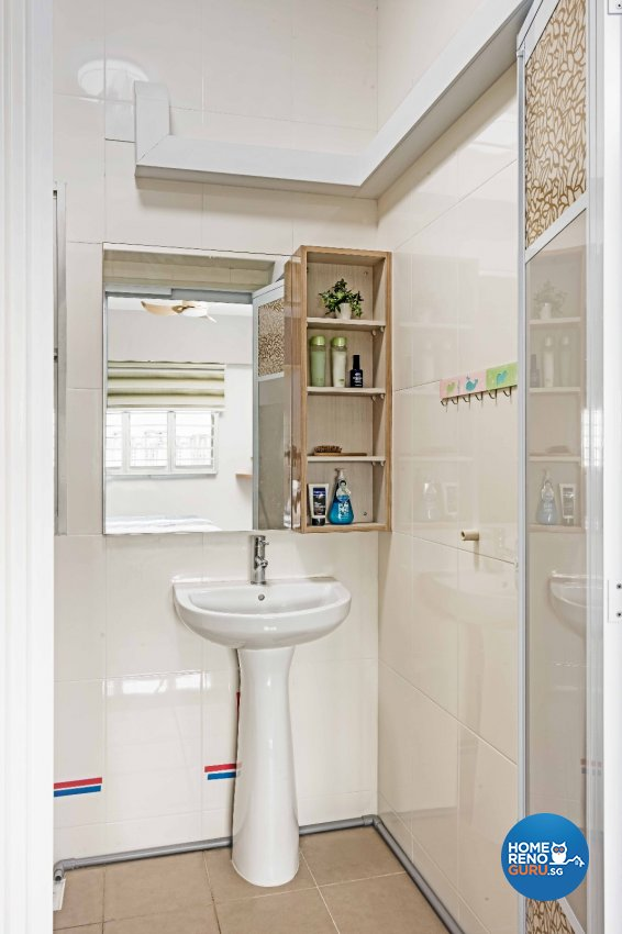 Contemporary Design - Bathroom - HDB 3 Room - Design by Luxurious Design Pte Ltd