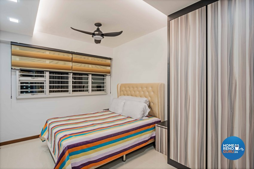 Contemporary, Modern Design - Bedroom - HDB 4 Room - Design by Luxurious Design Pte Ltd