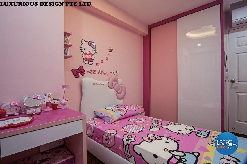 Contemporary, Mediterranean, Tropical Design - Bathroom - HDB 3 Room - Design by Luxurious Design Pte Ltd