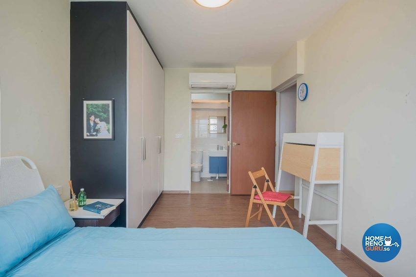 Contemporary, Minimalist, Modern Design - Bedroom - HDB 4 Room - Design by Luxurious Design Pte Ltd