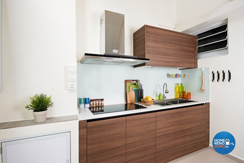 Modern Design - Kitchen - HDB 4 Room - Design by Luxurious Design Pte Ltd
