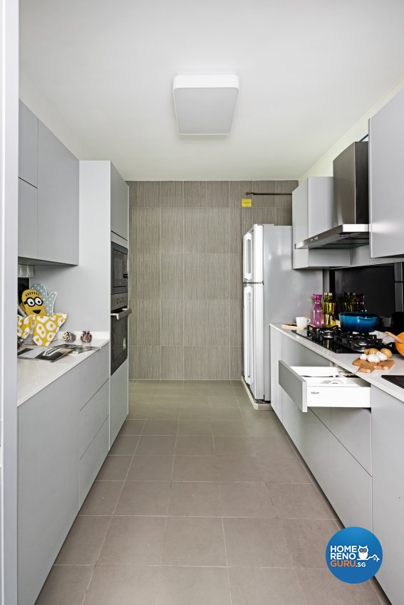 4 Room Hdb Design: Luxurious Design Pte Ltd Hdb 4 Room Urbankitchen 316a