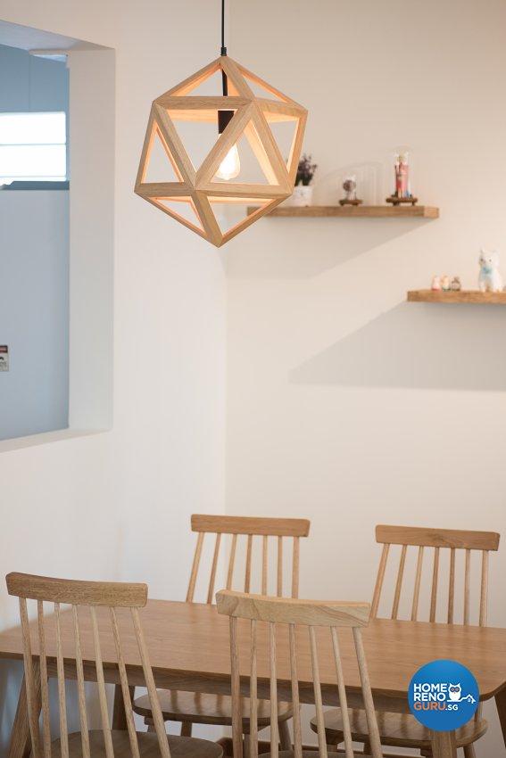 Minimalist, Scandinavian, Vintage Design - Commercial - HDB 4 Room - Design by Luxurious Design Pte Ltd