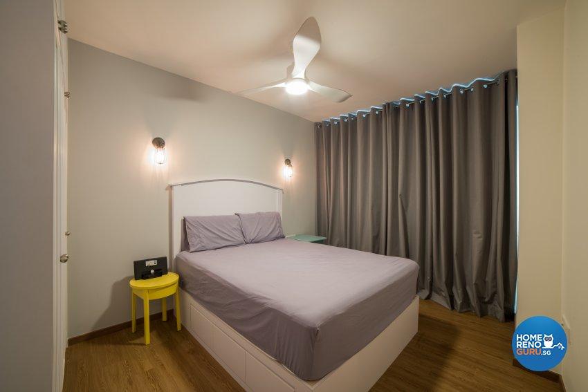 Minimalist, Scandinavian, Vintage Design - Bedroom - HDB 4 Room - Design by Luxurious Design Pte Ltd