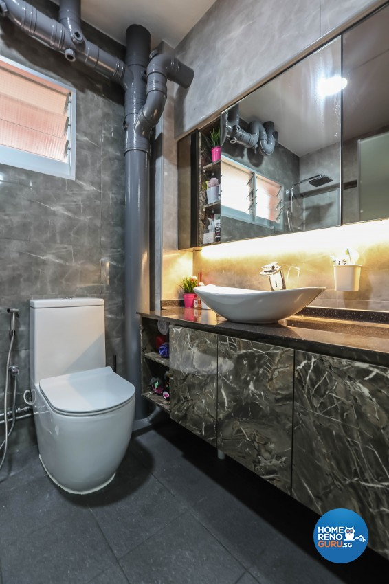 Others Design - Bathroom - HDB 5 Room - Design by Luxurious Design Pte Ltd