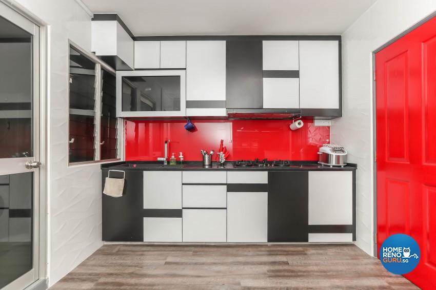Others Design - Kitchen - HDB 5 Room - Design by Luxurious Design Pte Ltd