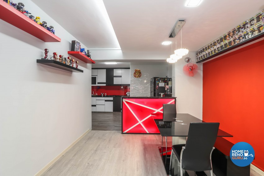 Others Design - Dining Room - HDB 5 Room - Design by Luxurious Design Pte Ltd