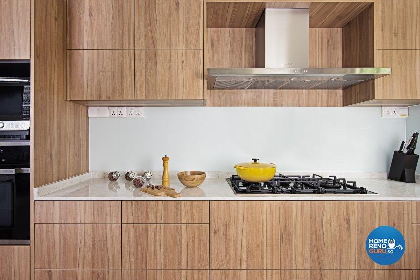Modern, Resort Design - Kitchen - Landed House - Design by Luxurious Design Pte Ltd
