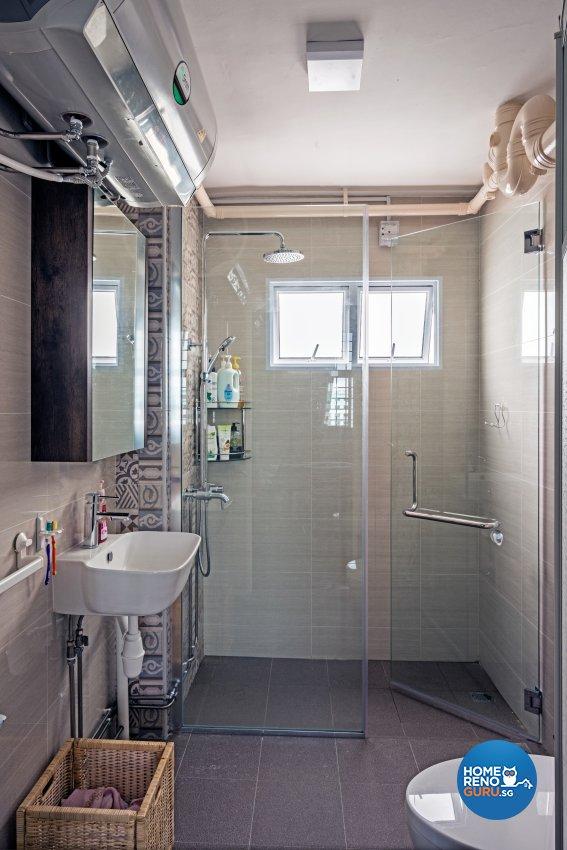 Contemporary, Minimalist, Modern Design - Bathroom - HDB 4 Room - Design by Luxurious Design Pte Ltd