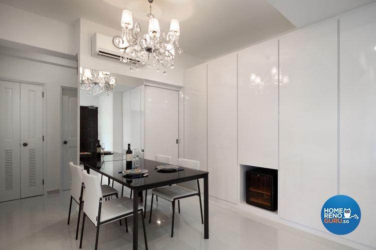 Contemporary, Retro Design - Dining Room - Condominium - Design by M Image Interior Design & Renovation