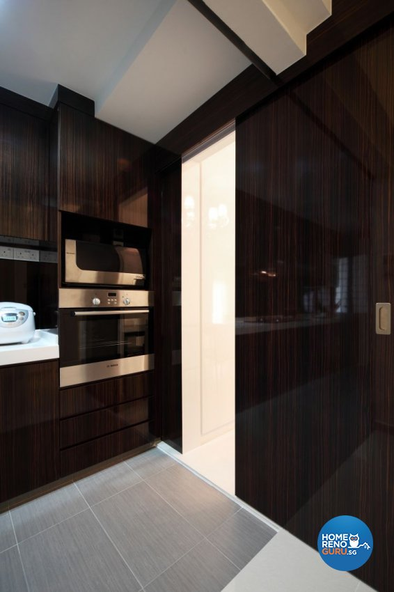 Contemporary, Retro Design - Kitchen - Condominium - Design by M Image Interior Design & Renovation