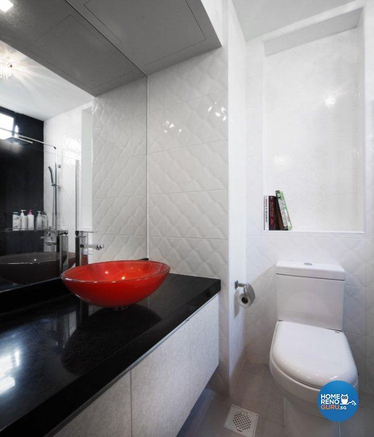 Contemporary, Retro Design - Bathroom - Condominium - Design by M Image Interior Design & Renovation