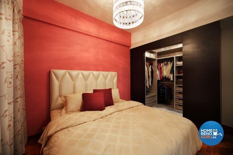 Contemporary, Retro Design - Bedroom - Condominium - Design by M Image Interior Design & Renovation