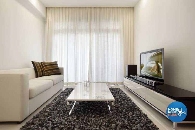 Contemporary, Retro Design - Living Room - Condominium - Design by M Image Interior Design & Renovation