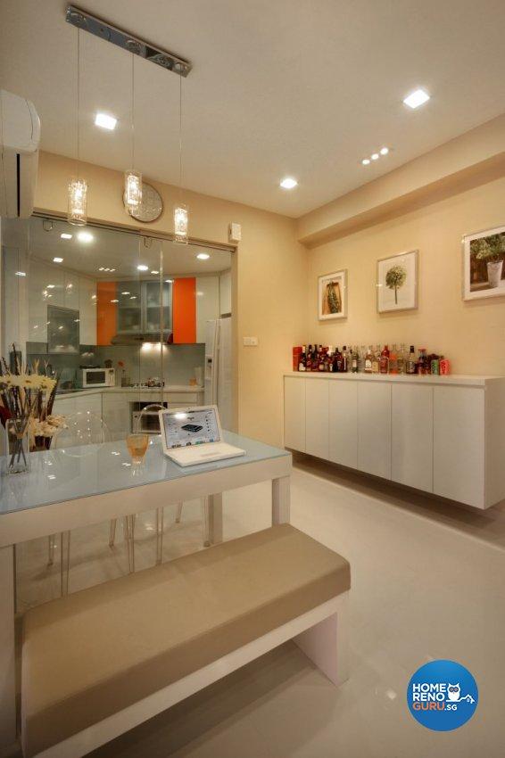 Contemporary, Minimalist, Scandinavian Design - Dining Room - Condominium - Design by M Image Interior Design & Renovation