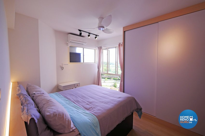 Minimalist, Modern, Scandinavian Design - Bedroom - Condominium - Design by M Square Decor Pte Ltd
