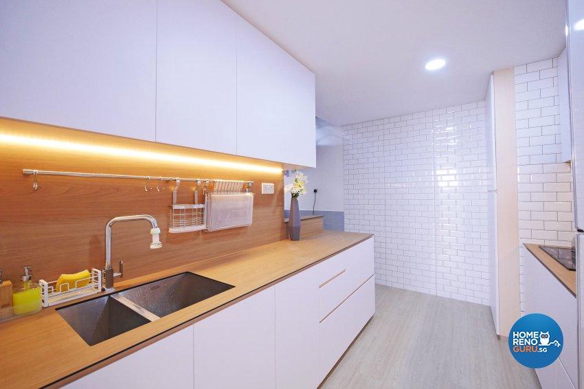 Minimalist, Modern, Scandinavian Design - Kitchen - Condominium - Design by M Square Decor Pte Ltd