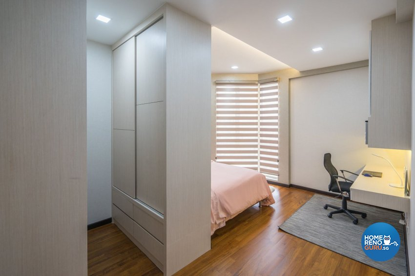 Oriental Design - Bedroom - Condominium - Design by MADE Artisan ID Pte Ltd