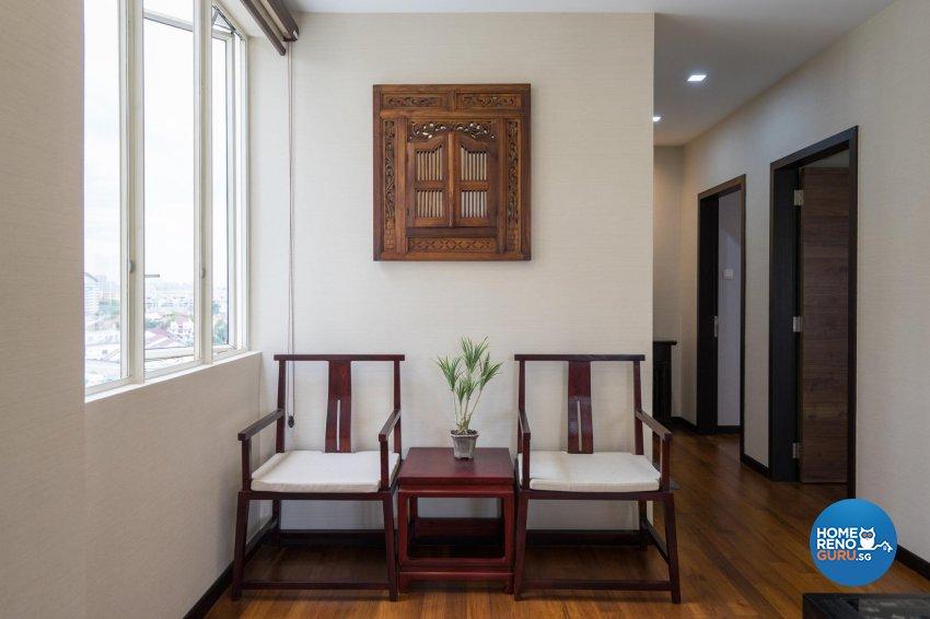 Oriental Design - Entertainment Room - Condominium - Design by MADE Artisan ID Pte Ltd
