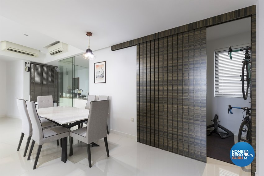 Contemporary, Modern Design - Dining Room - Condominium - Design by MADE Artisan ID Pte Ltd