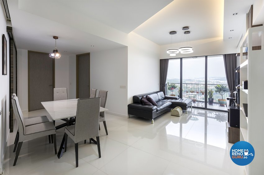Contemporary, Modern Design - Living Room - Condominium - Design by MADE Artisan ID Pte Ltd