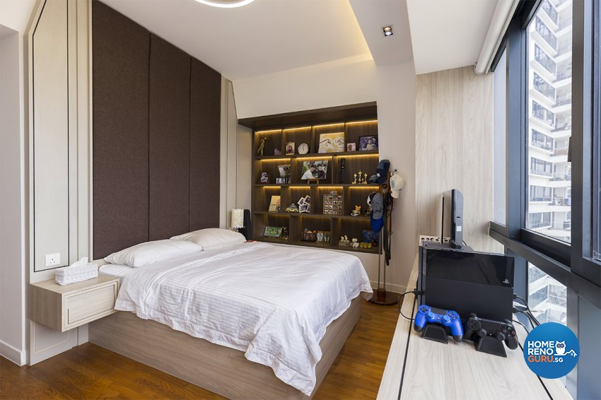 Contemporary, Modern Design - Bedroom - Condominium - Design by MADE Artisan ID Pte Ltd
