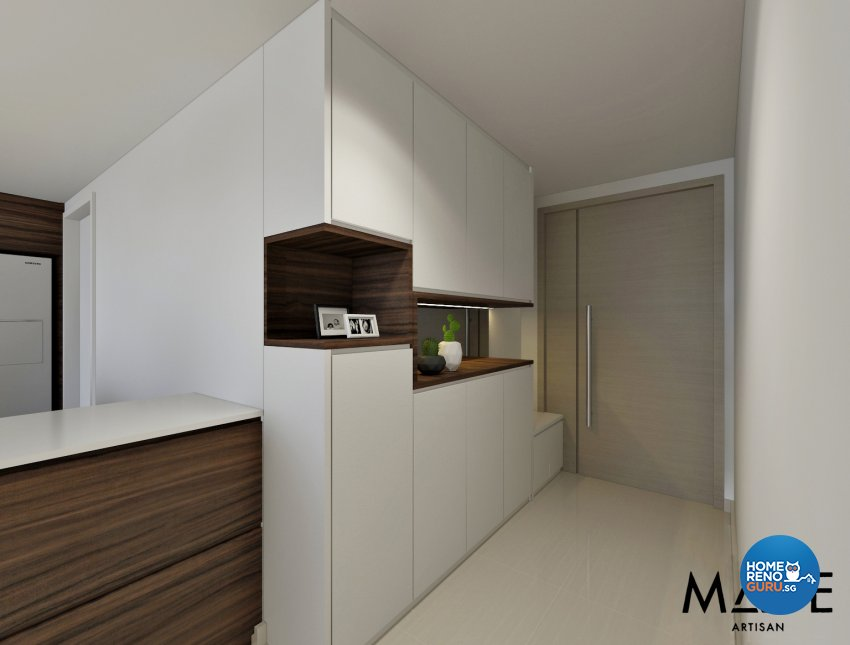 MADE Artisan ID Pte Ltd-HDB 3-Room package