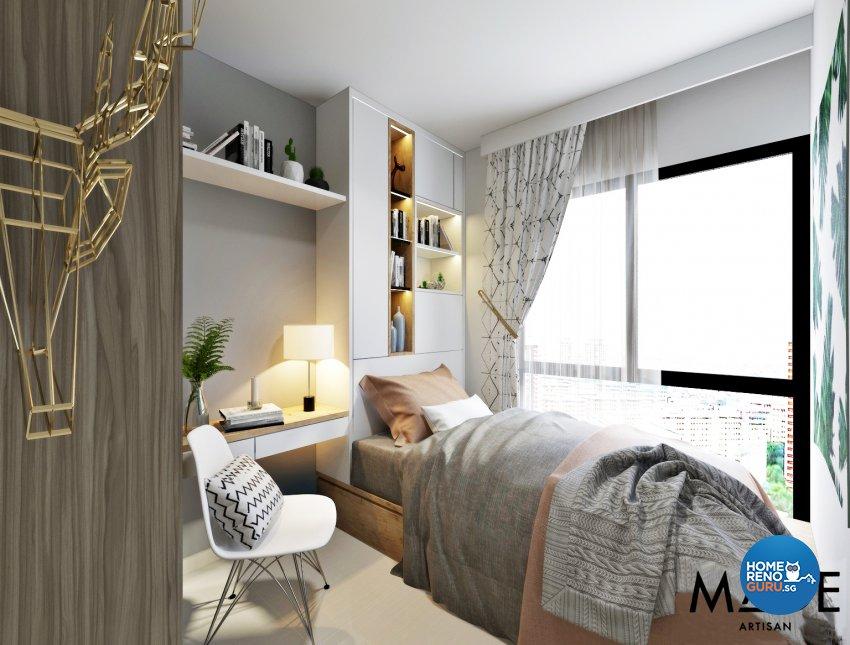 Modern Design - Bedroom - Condominium - Design by MADE Artisan ID Pte Ltd
