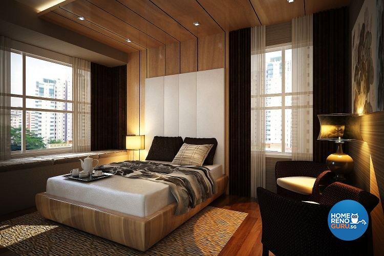 Modern, Resort Design - Bedroom - Condominium - Design by Matrix Interior Pte Ltd
