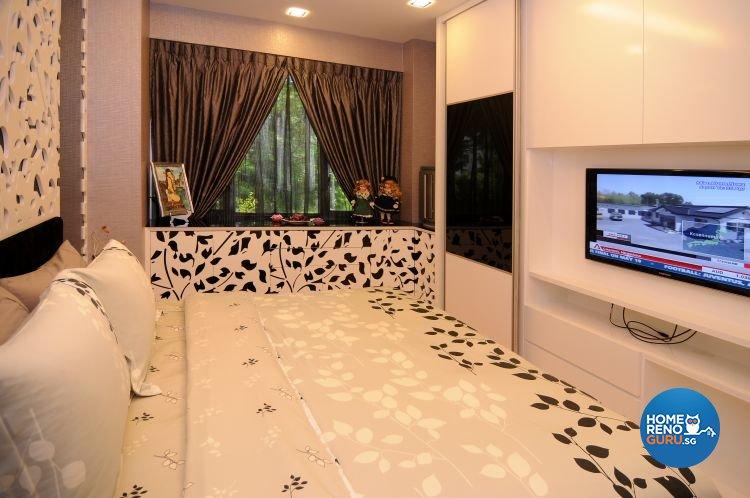 Retro, Tropical Design - Bedroom - Condominium - Design by Matrix Interior Pte Ltd