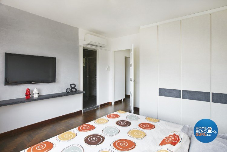 Minimalist, Modern Design - Bedroom - HDB Executive Apartment - Design by Matrix Interior Pte Ltd