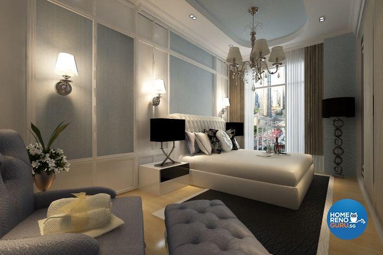 Classical, Modern Design - Bedroom - Condominium - Design by Matrix Interior Pte Ltd