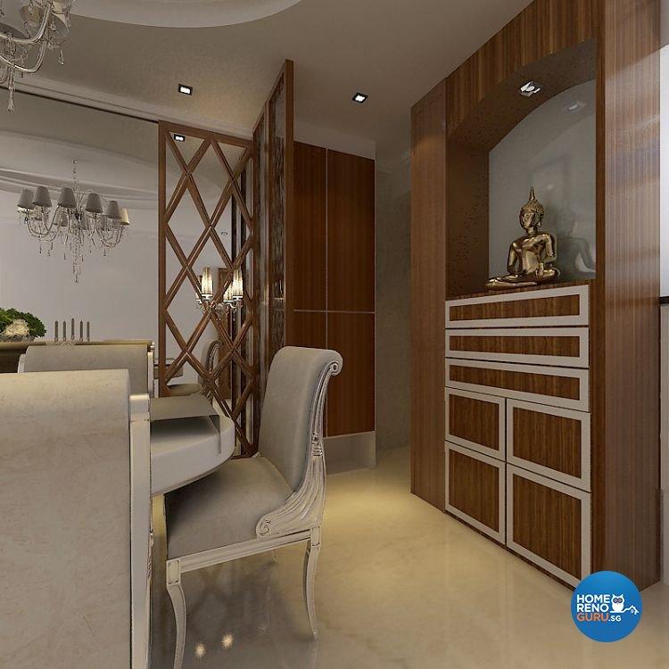 Classical, Modern Design - Dining Room - Condominium - Design by Matrix Interior Pte Ltd