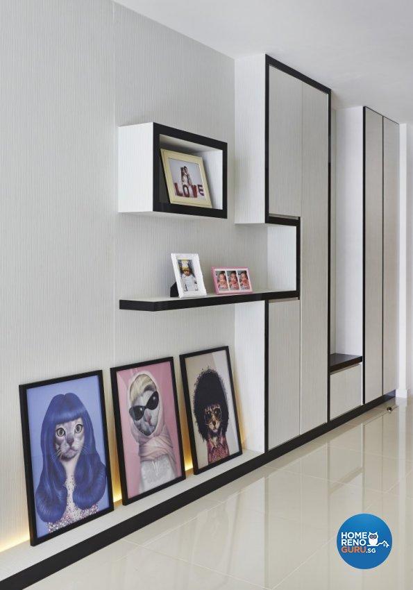 Classical, Modern Design - Living Room - HDB 5 Room - Design by Matrix Interior Pte Ltd