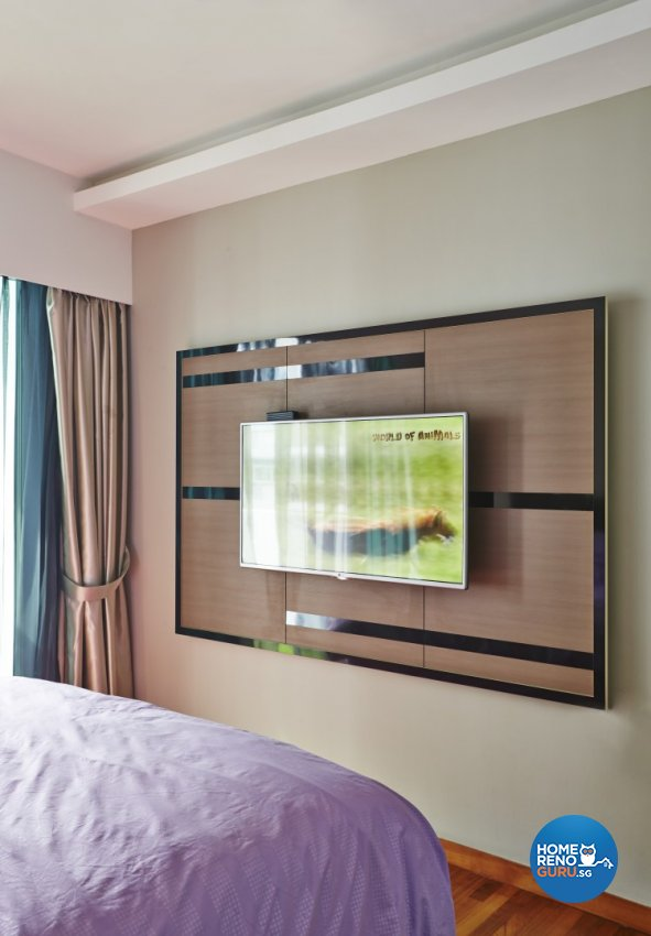 Classical, Modern Design - Bedroom - HDB 5 Room - Design by Matrix Interior Pte Ltd