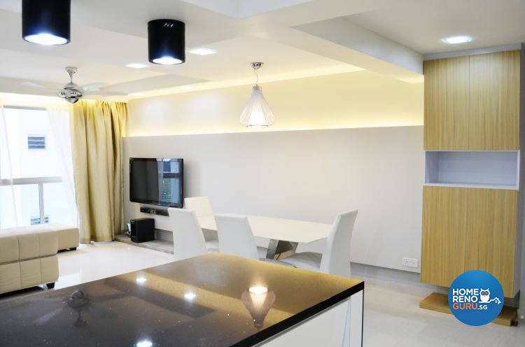 Contemporary, Minimalist, Scandinavian Design - Living Room - HDB 5 Room - Design by Measurement of Lifestyle Interior Design