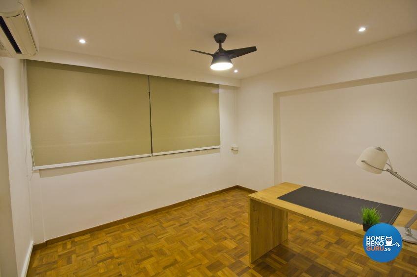 Industrial, Modern Design - Study Room - HDB Executive Apartment - Design by Met Interior