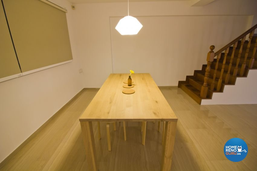 Industrial, Modern Design - Dining Room - HDB Executive Apartment - Design by Met Interior