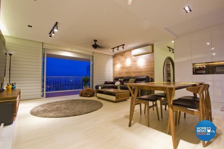 Scandinavian Design - Dining Room - HDB 5 Room - Design by Met Interior